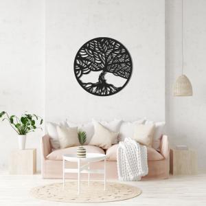 Bohatá koruna - Strom života Ďalšie originálne prevedenie symbolu STROM ŽIVOTA z našej dielničky, ktoré vyrábame z dreva. Nádherne okrášli Váš ineriér, ktorému dodá život.