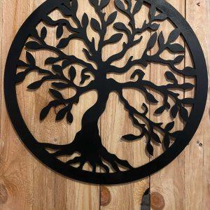 Dekorácia do interiéru: strom života - čierna farba