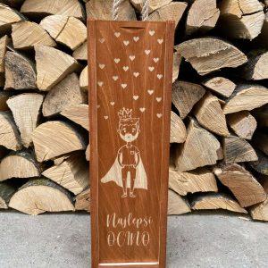 Drevená krabica na víno: Najlepší ocino
